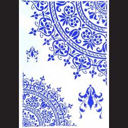Plastová šablona A4 - ornamenty, N007V