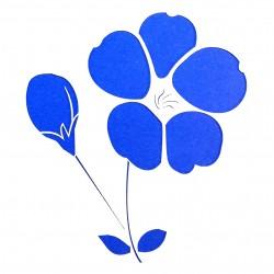 Plastová šablona - květina, N008M