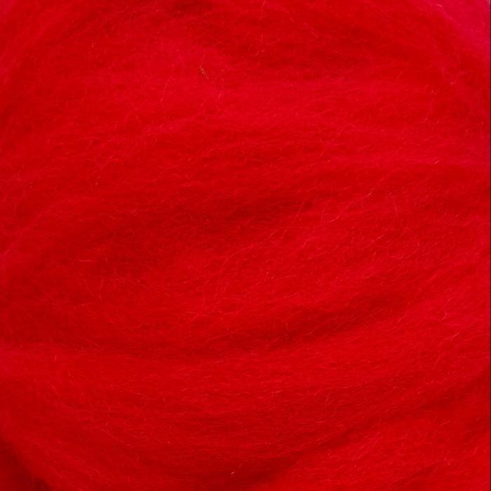 Ovčí rouno - červené, 10 g