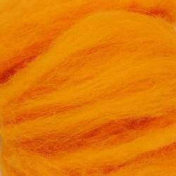 Ovčí rouno - oranžové, 10 g