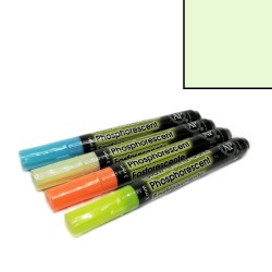 Fix na textil svítící ve tmě - zelený, 3 mm