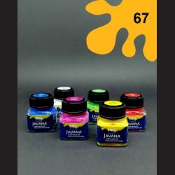 Barva na textil Javana - tm. žlutá, 20 ml