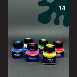 Barva na textil Javana metal - antracitová, 20 ml