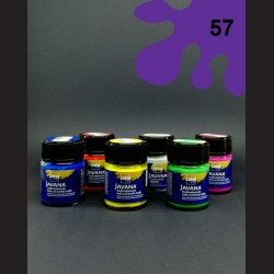 Barva na textil Javana - fialová, 50 ml