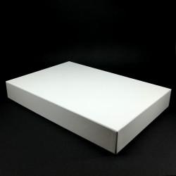 Bílá krabička na deskovou hru - 34x23x4,5 cm