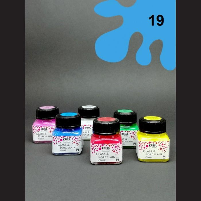 Barva na porcelán Classic - sv. modrá, 20 ml