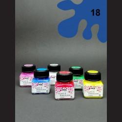 Barva na porcelán Classic - kobaltová, 20 ml