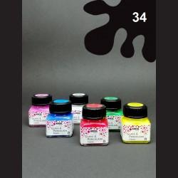 Barva na porcelán Classic - černá, 20 ml
