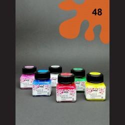 Barva na porcelán Classic - měděná, 20 ml