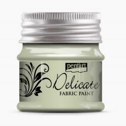 Barva na textil metalická - bílé zlato, 50 ml