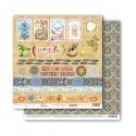 Papír na scrapbook - Cards 2, 30,5 x 30,5