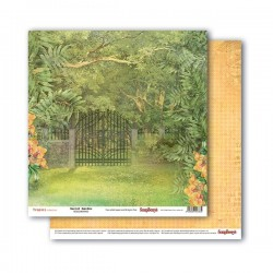 Papír na scrapbook - Secret Garden, 30,5 x 30,5