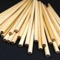 Dřevěná tyčka - 20 cm, ø 6 mm