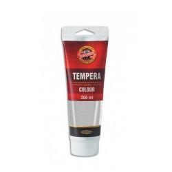 Temperová barva - stříbrná, 250 ml
