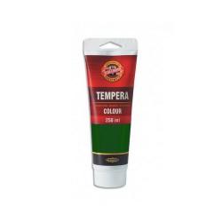 Temperová barva - zeleň tmavá, 250 ml