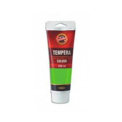 Temperová barva - zeleň světlá, 250 ml
