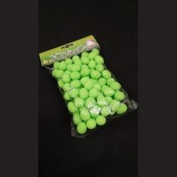 Polystyrenová vejce zelená 2 cm 100 ks