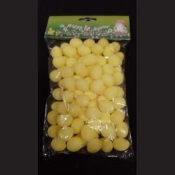 Polystyrenová vejce žlutá 2 cm 100 ks