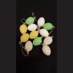 Plastová vejce barevná malá