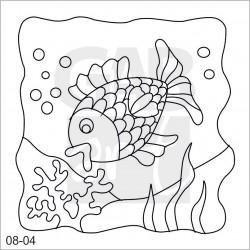 Obrázek k pískování - ryba