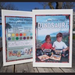 Dinosauři - sada pískování