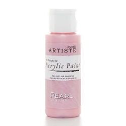 Akrylová barva, 59 ml - perleťová růžová