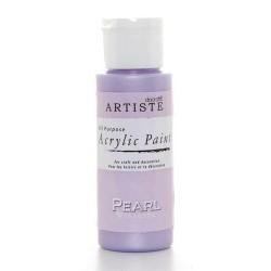 Akrylová barva, 59 ml - perleťová lila