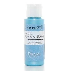 Akrylová barva, 59 ml - perleťová ledově modrá