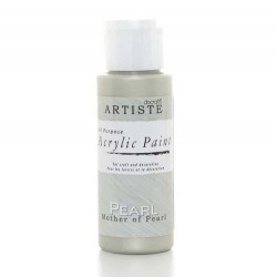 Akrylová barva, 59 ml - perleťová základní
