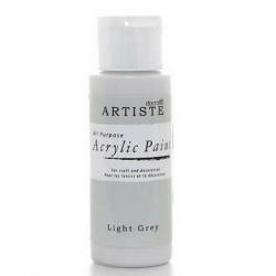 Akrylová barva, 59 ml - světle šedá