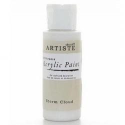 Akrylová barva, 59 ml - bílošedá
