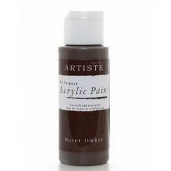 Akrylová barva, 59 ml - tmavě hnědá