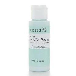 Akrylová barva, 59 ml - světle modrá