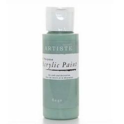 Akrylová barva, 59 ml - zelenobílá