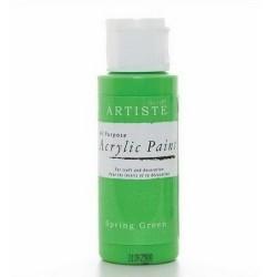 Akrylová barva, 59 ml - jarní zelená