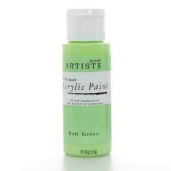 Akrylová barva, 59 ml - světle zelená