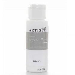 Akrylová barva, 59 ml - bílá