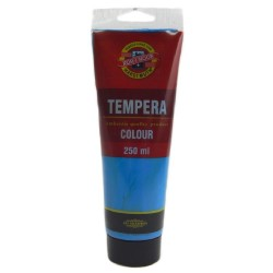 Temperová barva - coelinová modř, 250 ml