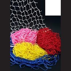 Dekorační síť - bílá, 1 x 1 m, oko 4,5 cm