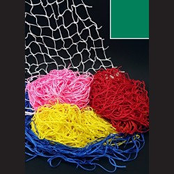Dekorační síť - smaragdová, 1 x 1 m, oko 10 cm