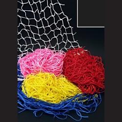 Dekorační síť - černá, 1 x 1 m, oko 10 cm