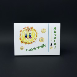 Náčrtník A5 - akvarel, 30 listů