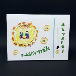 Náčrtník A4 - akvarel, 30 listů
