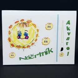 Náčrtník 24 x 32 cm - akvarel, 20 listů