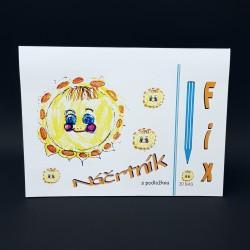 Náčrtník 24 x 32 cm - fix, 20 listů