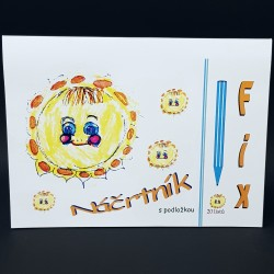 Náčrtník A3 - fix, 25 listů