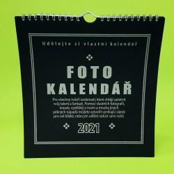 Kalendář k dotvoření - černý
