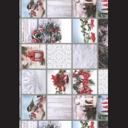 Papír A4, 300 g - bílé Vánoce oboustranné