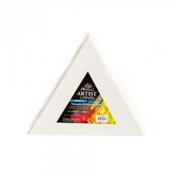 Trojúhelníkové malířské plátno na rámu 30 cm