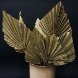 Podzimní dekorace list - tmavá velká